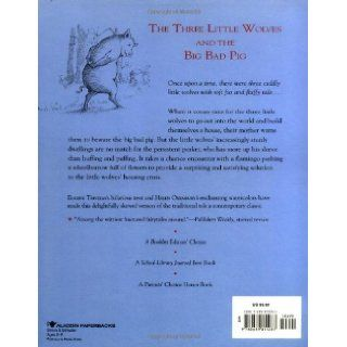 The Three Little Wolves and the Big Bad Pig Eugene Trivizas, Helen Oxenbury 9780689815287 Books