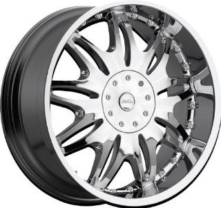 MILANNI   331 ambrosia   20 Inch Rim x 9   (6x4.5/6x5.5) Offset (18) Wheel Finish   Chrome: Automotive