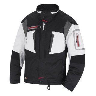 Ski Doo Men's Glide Winter Snowmobile Jacket White 440553xx01 (Medium): Automotive