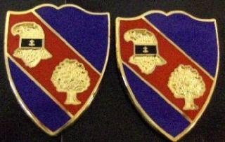 354th REGIMENT BCT USAR Distinctive Unit Insignia   Pair Clothing