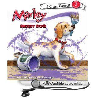 Marley: Messy Dog (Audible Audio Edition): John Grogan, Richard Cowdrey, Sean Schemmel: Books