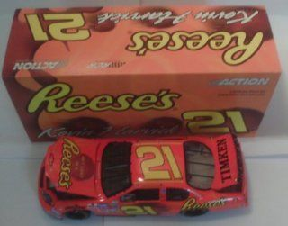 Nascar   Kevin Harvick #21   Reese's   2004 Monte Carlo   124 Scale Stock Car   Limited Edition 1 of 11,376 Toys & Games