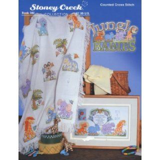 Jungle Babies (Counted Cross Stitch) (Stoney Creek Collection Book 382) Stoney Creek staff Books