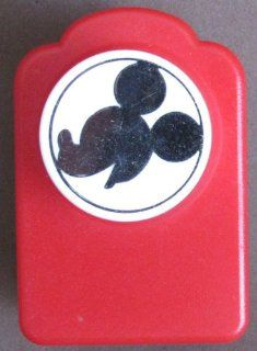 """Disney MICKEY MOUSE """"HEAD"""" Silhouette PAPER PUNCH Puncher"""