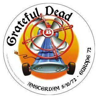 Grateful Dead Rock Music Band Sticker   Europe 1972 Tour   Amsterdam: Automotive