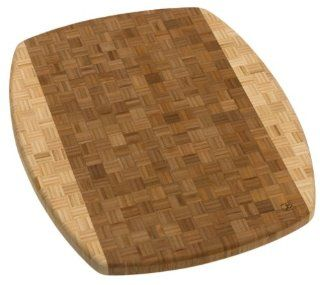 Totally Bamboo Congo Parquet Cutting Board: Kitchen & Dining