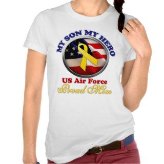 Proud Mom   Air Force T Shirt