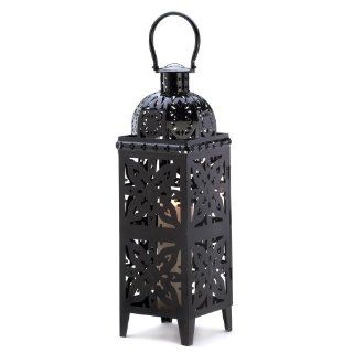 20 Wholesale Giant Size Black Medallion Lantern Wedding Centerpieces   Decorative Candle Lanterns