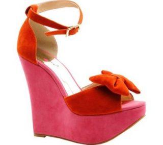 LUICHINY Women's Sav Vee (Orange/Hot Pink 6.0 M) Luichiny Shoes