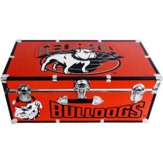 Mercury Luggage Georgia Bulldogs Wheeled Footlocker Trunk   Georgia Bulldogs One Size: Clothing
