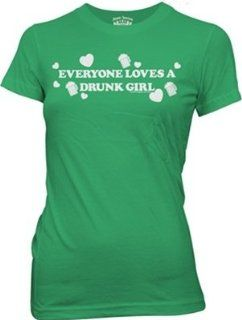 St. Patricks Day Drunk Girl Womens Sports & Outdoors