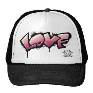 Love Graffiti Hat   by Morgan Designs