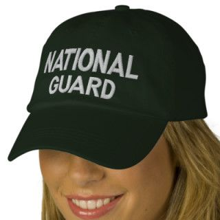 NATIONAL GUARD BASEBALL CAP
