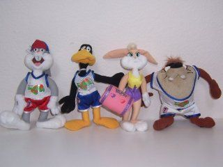 Space Jam Set of 4 Plush Toys Toys & Games