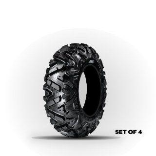 GBC MotorSports Dirt Tamer Four (4) ATV/UTV Tires  Two (2) FRONT AR122926 26x9.00 12 26x9x12 & Two (2) REAR AR122216 26x12.00 12 26x12x12: Automotive
