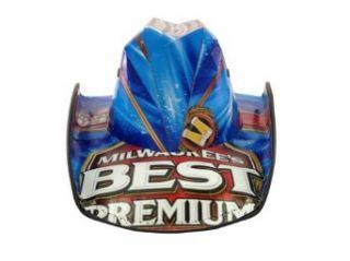Licensed Milwaukee's Best Beer Cowboy Style Beer Hat Clothing