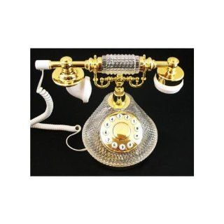 Golden Eagle CRYSTALPHONE GEE409 French Crystal Phone   NEW   Retail   CRYSTALPHONE Computers & Accessories