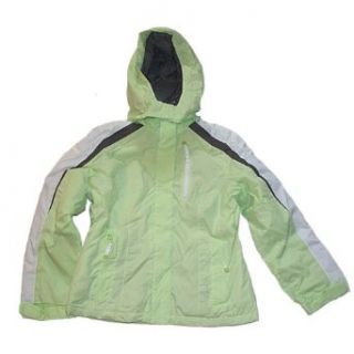 Limited Too Girls Ski Jacket, Lime Twist, 20 Clothing
