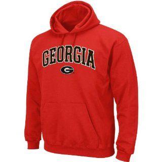 NCAA Men's Georgia Bulldogs Huddle Up Pullover Hood With Kangaroo Pocket (Athletic Red, XX Large) : Sports Fan Sweatshirts : Sports & Outdoors