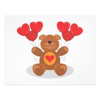 Teddy Heart Letterhead Design