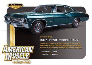 1967 Chevrolet Impala SS 427 Tahoe Turquoise 118 ERTL Authentics Toys & Games