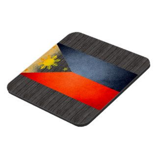 Sun kissed Philippines Flag Coasters