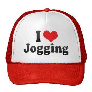 I Love Jogging Hat