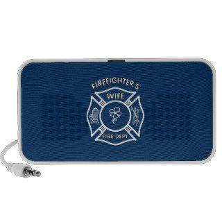 Fireman's Wife Mp3 Speakers