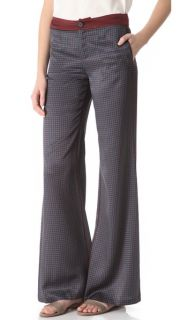 10 Crosby Derek Lam Printed Wide Leg Pants