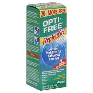 Opti Free Pure Moist Disinfecting Solution, Multi Purpose, Twin Pack, 2   10 fl oz (300 ml) bottles   Health & Wellness   Eye & Ear Care   Contact Lens Solutions