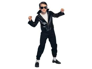 Kids 50's Rock Star Greaser Costume   Fifties Costumes