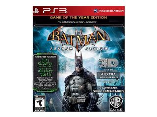 Batman Arkham Asylum Game of the year Playstation3 Game Eidos