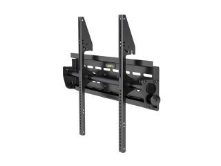Level Mount DC65FT Matte Black Powder Coat Finish Tilt TV Mount  TV Bracket
