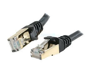 Rosewill RCW 100 CAT7 BK 100 ft. Cat 7 Black Color Shielded Twisted Pair (S/STP) Networking Cable