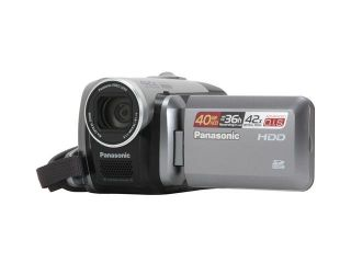 "Panasonic SDR H40 Black/Silver 2.7""LCD 42X Variable Speed Zoom 40GB Hard Disk Drive/SD Hybrid Camcorder"