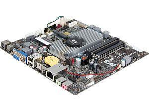 ECS NM70 TI (V1.0A) Intel Celeron 847/807 Intel NM70 Thin Mini ITX Motherboard/CPU/VGA Combo