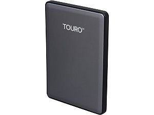 HGST TOURO S 1TB USB 3.0 High Performance Ultra Portable Drive 0S03753(HTOSPA10001BGB) Gold