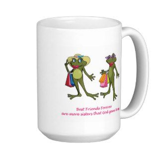 BFF Best Friends Forever Frog Mug