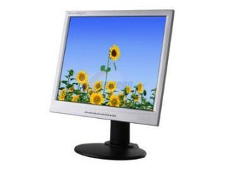 "ENVISION EN 7410E Silver Black 17"" 12ms LCD Monitor 270 cd/m2 450:1"