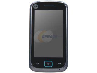 Motorola EX128 Gray Unlocked GSM Touch Screen Phone w/ Dual SIM / 3.15MP Camera / Stereo FM Radio