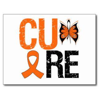Cure Kidney Cancer (Orange Ribbon) Post Cards