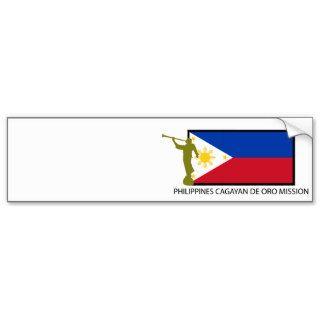 PHILIPPINES CAGAYAN DE ORO MISSION LDS CTR BUMPER STICKER