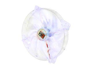 XIGMATEK LED Fan Crystal series CLF F1705 170mm Purple LED Case Fan  Molex Adapter/extender included
