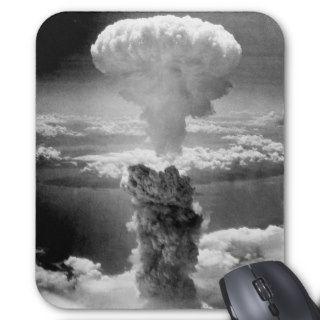 Mushroom Cloud Over Nagasaki    WW2 Mouse Pad