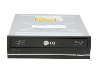 LG Black 12X BD R 2X BD RE 16X DVD+R 12X DVD RAM 10X BD ROM 4MB Cache SATA Internal 12X Super Multi Blue with 3D Playback Blu ray Disc Rewriter WH12LS38 LightScribe Support