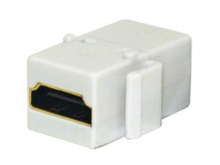 Steren 310 485WH Keystone HDMI® Jack Adapter, White