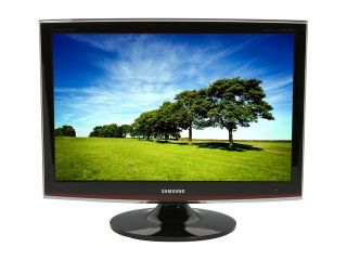 "SAMSUNG ToC T240HD Rose Black 24"" 5ms HDMI Widescreen HDTV Monitor  300 cd/m2 DC 10000:1 Built in DTV Tuner & Dolby Digital Surround Speakers"