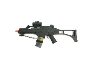 Spring Double Eagle M41 Assault Rifle FPS 280, Laser Sight, Red Dot, Shoulder Strap Airsoft Gun, g36 Airsoft gun