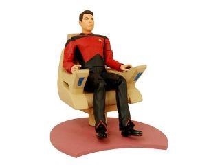 Star Trek Tng 20Th Anniversary Season 1 Riker In Chair