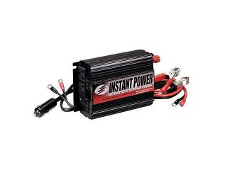 Schumacher  400 Watt Power Inverter with Battery Clamps and 12 Volt Male Adapter Plug (PI 400)